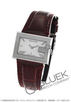 グッチ Gレクタングル アリゲーターレザー 腕時計 レディース GUCCI YA100503