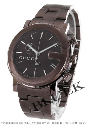 グッチ Gクロノ クロノグラフ 腕時計 メンズ GUCCI YA101341