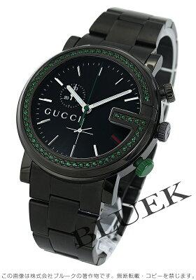 グッチ Gラウンド クロノグラフ 腕時計 メンズ GUCCI YA101349