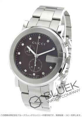 グッチ GUCCI 腕時計 Gクロノ ダイヤ メンズ YA101350