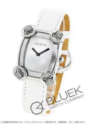 グッチ GUCCI 腕時計 ホースビットカクテル ダイヤ リザードレザー レディース YA117506