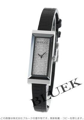 グッチ GUCCI 腕時計 Gフレーム ダイヤ リザードレザー レディース YA127509