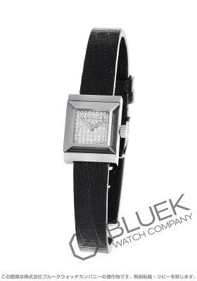グッチ Gフレーム スクエア ダイヤ リザードレザー 腕時計 レディース GUCCI YA128509