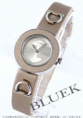 グッチ ユープレイ サテンレザー 腕時計 レディース GUCCI YA129516