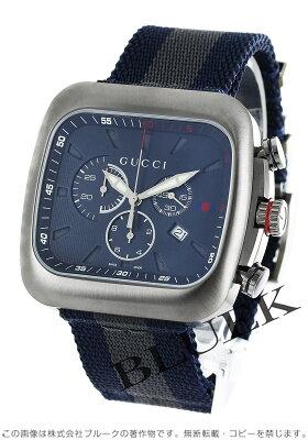 グッチ グッチクーペ クロノグラフ 腕時計 メンズ GUCCI YA131203