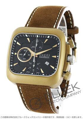 グッチ グッチクーペ クロノグラフ 腕時計 メンズ GUCCI YA131205