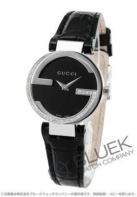 グッチ インターロッキング ダイヤ アリゲーターレザー 腕時計 レディース GUCCI YA133507