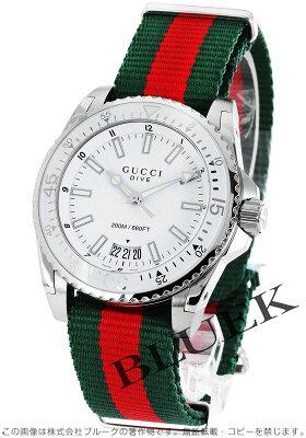 グッチ GUCCI 腕時計 ダイヴ メンズ YA136207