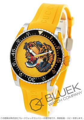 グッチ GUCCI 腕時計 ダイヴ タイガー メンズ YA136317