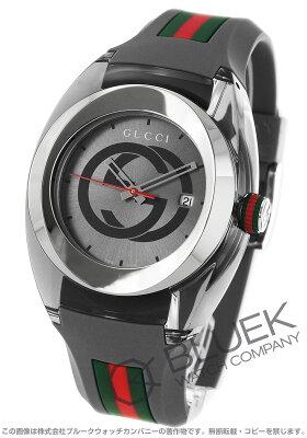 グッチ GUCCI 腕時計 シンク 137XXL メンズ YA137109
