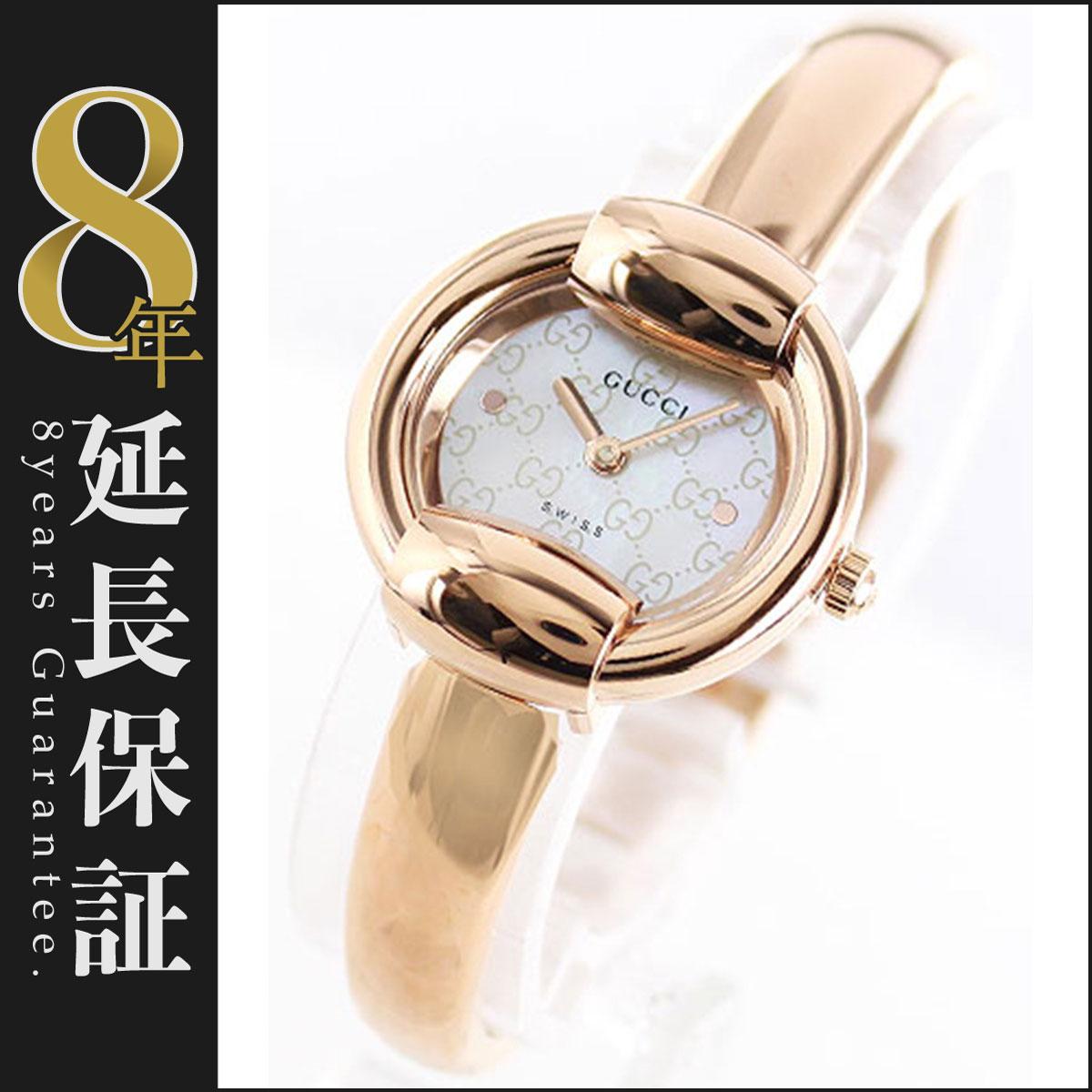 30b4b28aa300 (Gミラー) GUCCI YA067508 グッチ バングルウォッチ ブラック レディース腕時計