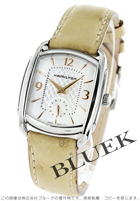ハミルトン バグリー オーストリッチレザー 腕時計 ユニセックス HAMILTON H12451855