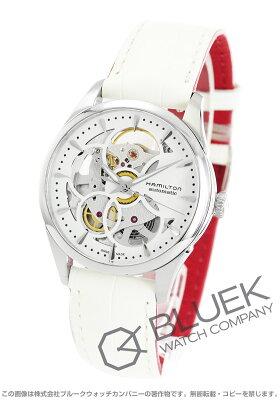ハミルトン ジャズマスター ビューマチック スケルトン レディ 腕時計 レディース HAMILTON H32405811