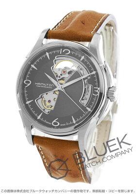 ハミルトン ジャズマスター ビューマチック オープンハート オーストリッチレザー 腕時計 メンズ HAMILTON H32565585