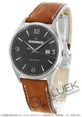 ハミルトン ジャズマスター ビューマチック オーストリッチレザー 腕時計 メンズ HAMILTON H32755851