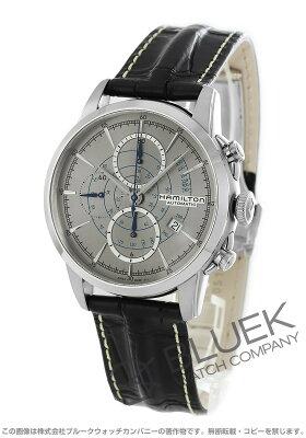 ハミルトン レイルロード クロノグラフ 腕時計 メンズ HAMILTON H40656781