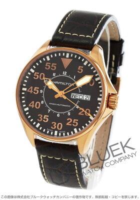 ハミルトン カーキ アビエーション パイロット オート 腕時計 メンズ HAMILTON H64445595