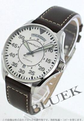 ハミルトン カーキ アビエーション パイロット オート 腕時計 メンズ HAMILTON H64615555