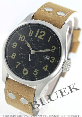ハミルトン カーキ オフィサー 腕時計 メンズ HAMILTON H70655733