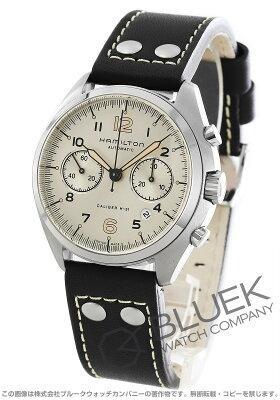 ハミルトン カーキ アビエーション パイロット パイオニア クロノグラフ 腕時計 メンズ HAMILTON H76416755