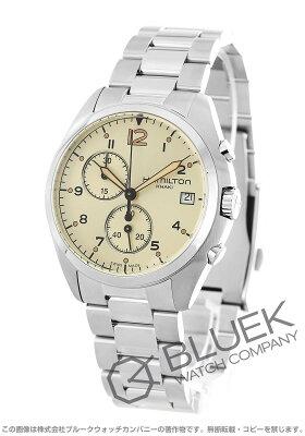 ハミルトン カーキ アビエーション パイロット パイオニア クロノグラフ 腕時計 メンズ HAMILTON H76512155