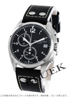 ハミルトン カーキ アビエーション パイロット パイオニア クロノグラフ 腕時計 メンズ HAMILTON H76512733