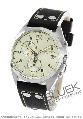 ハミルトン カーキ アビエーション パイロット パイオニア クロノグラフ 腕時計 メンズ HAMILTON H76512755