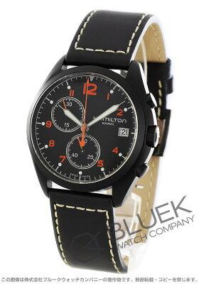 ハミルトン カーキ アビエーション パイロット パイオニア クロノグラフ 腕時計 メンズ HAMILTON H76582733