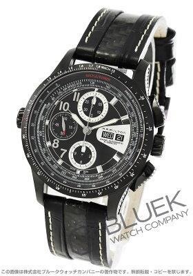 ハミルトン カーキ アビエーション X-マッハ クロノグラフ 腕時計 メンズ HAMILTON H76686735