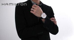 ハミルトン レイルロード クロノグラフ 腕時計 メンズ HAMILTON H40616555
