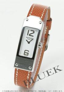 【エルメス】【時計】【腕時計】【新品】エルメス ケリーII レザー ブラウン/ホワイト レディー...