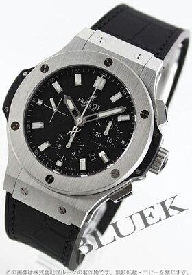 ウブロ HUBLOT 腕時計 ビッグバン スチール アリゲーターレザー メンズ 301.SX.1170.GR