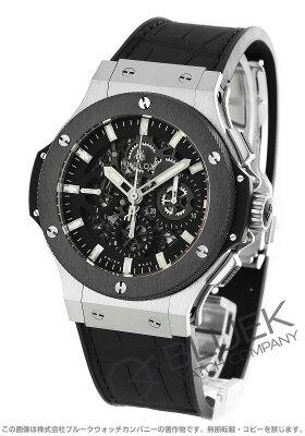 ウブロ HUBLOT 腕時計 ビッグバン アエロバン スチールセラミック アリゲーターレザー メンズ 311.SM.1170.GR