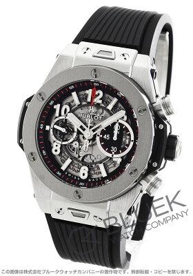 ウブロ HUBLOT 腕時計 ビッグバン ウニコ チタニウム メンズ 411.NX.1170.RX