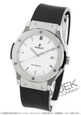 ウブロ HUBLOT 腕時計 クラシック フュージョン チタニウム オパリン メンズ 511.NX.2611.RX