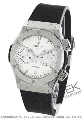 ウブロ HUBLOT 腕時計 クラシック フュージョン チタニウム オパリン メンズ 521.NX.2611.RX