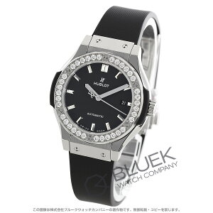 Hublot Classic Fusion Titanium Diamond Watch Ladies HUBLOT 582.NX.1170.RX1204
