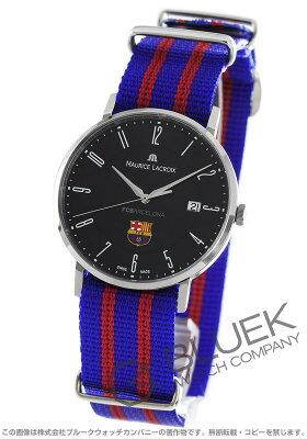 モーリス・ラクロア MAURICE LACROIX 腕時計 エリロス FCバルセロナ 替えベルト付き メンズ EL1087-SS002-320