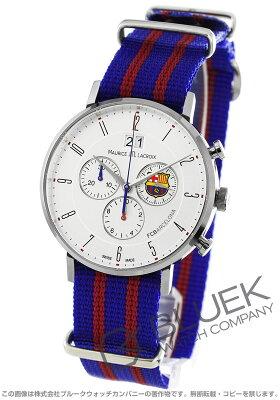モーリス・ラクロア MAURICE LACROIX 腕時計 エリロス FCバルセロナ 替えベルト付き メンズ EL1088-SS002-120