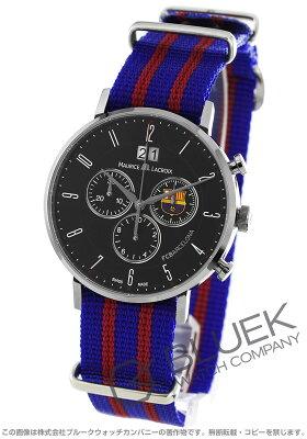 モーリス・ラクロア MAURICE LACROIX 腕時計 エリロス FCバルセロナ 替えベルト付き メンズ EL1088-SS002-320
