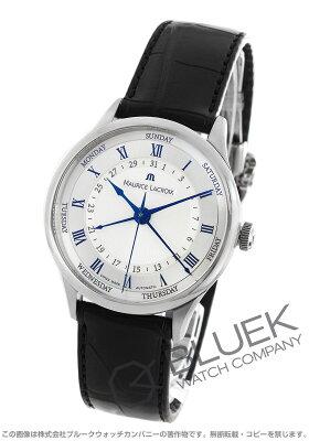 モーリス・ラクロア マスターピース トラディション 5ハンズ クロコレザー 腕時計 メンズ MAURICE LACROIX MP6507-SS001-110
