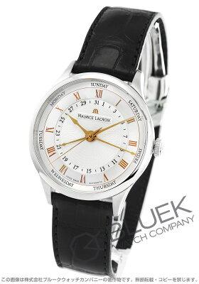 モーリス・ラクロア MAURICE LACROIX 腕時計 マスターピース トラディション 5ハンズ クロコレザー メンズ MP6507-SS001-111