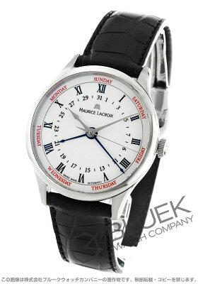 モーリス・ラクロア MAURICE LACROIX 腕時計 マスターピース トラディション 5ハンズ クロコレザー メンズ MP6507-SS001-112