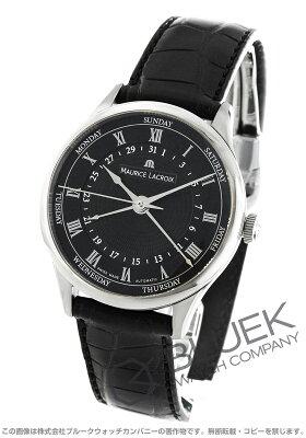 モーリス・ラクロア MAURICE LACROIX 腕時計 マスターピース トラディション 5ハンズ クロコレザー メンズ MP6507-SS001-310