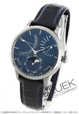モーリス・ラクロア マスターピース カランドリエ レトログラード ムーンフェイズ パワーリザーブ 腕時計 メンズ MAURICE LACROIX MP6528-SS001-430