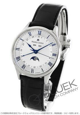 モーリス・ラクロア マスターピース トラディション ムーンフェイズ クロコレザー 腕時計 メンズ MAURICE LACROIX MP6607-SS001-110