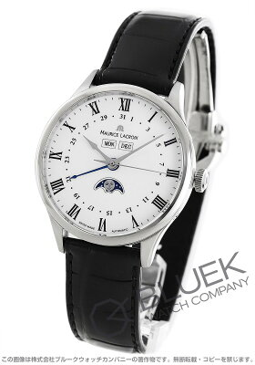 モーリス・ラクロア マスターピース トラディション ムーンフェイズ クロコレザー 腕時計 メンズ MAURICE LACROIX MP6607-SS001-112