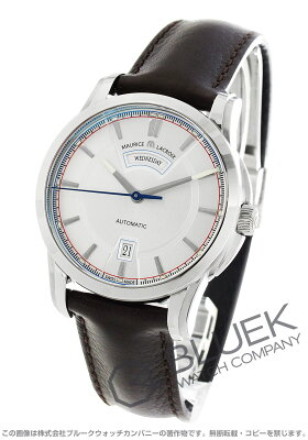 モーリス・ラクロア MAURICE LACROIX 腕時計 ポントス デイデイト レトロ メンズ PT6158-SS001-131