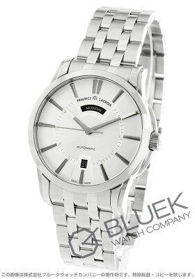 モーリス・ラクロア MAURICE LACROIX 腕時計 ポントス デイデイト メンズ PT6158-SS002-13E