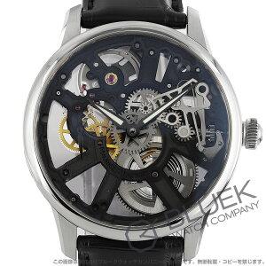 モーリス・ラクロア マスターピース スケルトン クロコレザー 腕時計 メンズ MAURICE LACROIX MP7228-SS001-000